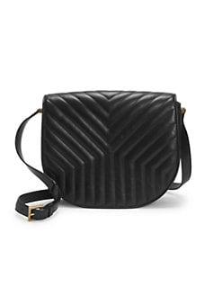 b091d9a924dd7a Saint Laurent. Joan Matelasse Leather Crossbody Bag