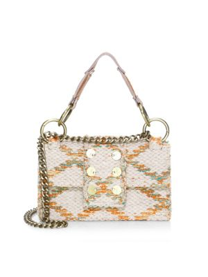 Kooreloo Rhombus Love Coin Shoulder Bag In Multi