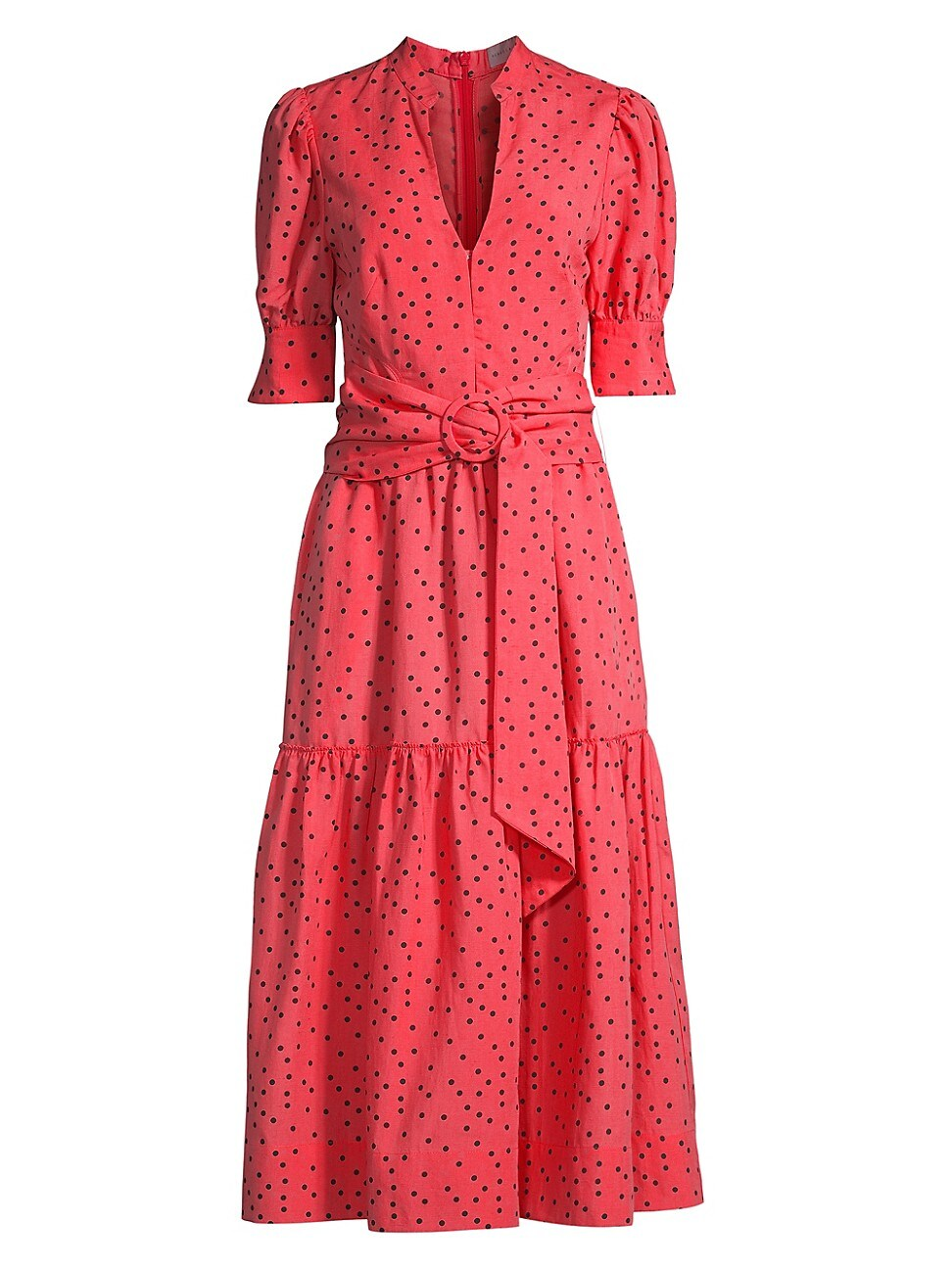 Rebecca Vallance WOMEN'S HOLLIDAY POLKA DOT MIDI DRESS