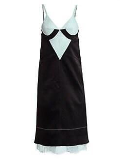 263d23ee7700 Proenza Schouler. Bonded Washed Satin Slip Dress