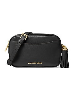 11a168c71c47 QUICK VIEW. Michael Kors Collection. Small Crossbodies Pebbled Leather  Camera Bag