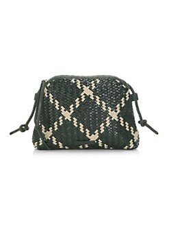 f890e3176d QUICK VIEW. Loeffler Randall. Mallory Woven Leather Crossbody Bag