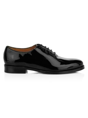 Cole Haan Gramercy Patent Leather Wholecut Oxfords