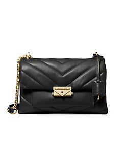4839ea16a5aeed Product image. QUICK VIEW. MICHAEL Michael Kors. Medium Cece Quilted Leather  Chain Shoulder Bag