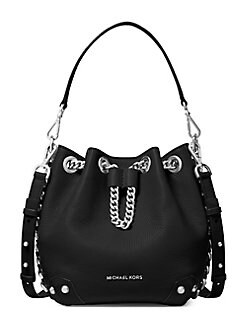 bacb20e72a31 QUICK VIEW. MICHAEL Michael Kors. Small Alanis Leather Bucket Bag