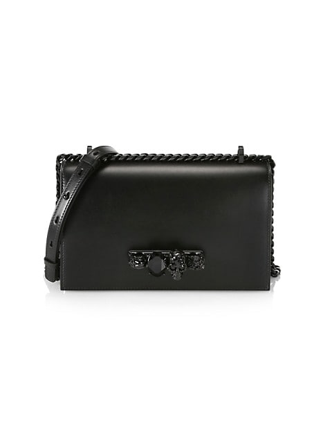 The Jewelled Leather Satchel