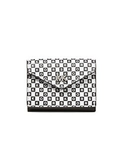 74aaa8f555ea MICHAEL Michael Kors. Small Money Pieces Leather Envelope Wallet