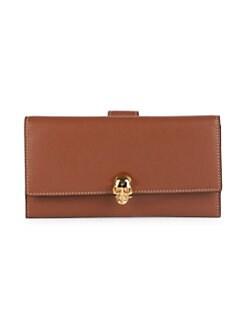 a08c9f2de5e2 Alexander McQueen. Continental Leather Wallet