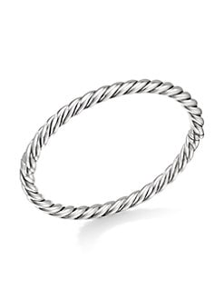 58798cb5540 Stax Sterling Silver Cable Bracelet NO COLOR. QUICK VIEW. Product image