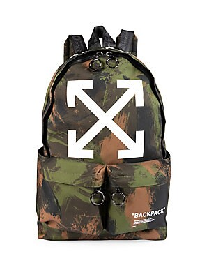 e979eba6027 Off-White - Quote Camo Backpack