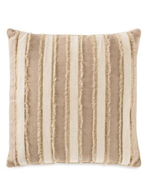 Callisto Home Meknes Beaded Linen Pillow