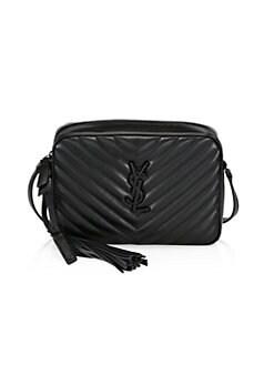 18451b92659 Lou Matelassé Leather Camera Bag BLACK. QUICK VIEW. Product image. QUICK  VIEW. Saint Laurent