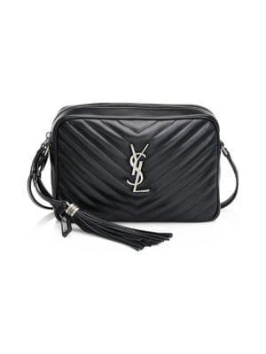 Saint Laurent Lou Matelasse Leather Camera Bag Saks Com