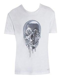 aae85f6b QUICK VIEW. Alexander McQueen. Metallic Skull Tee