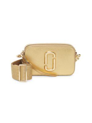 Marc Jacobs Bags The Metallic Snapshot Camera Bag