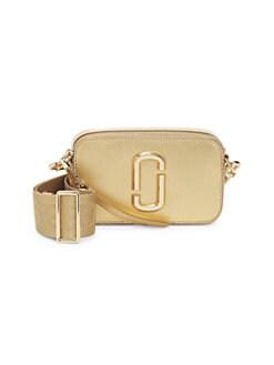 61f4a1f99c5741 QUICK VIEW. Marc Jacobs. The Metallic Snapshot Camera Bag