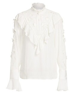 58b57e0bcbb Women's Apparel - Tops - Editor's Pick: Statement Tops - saks.com