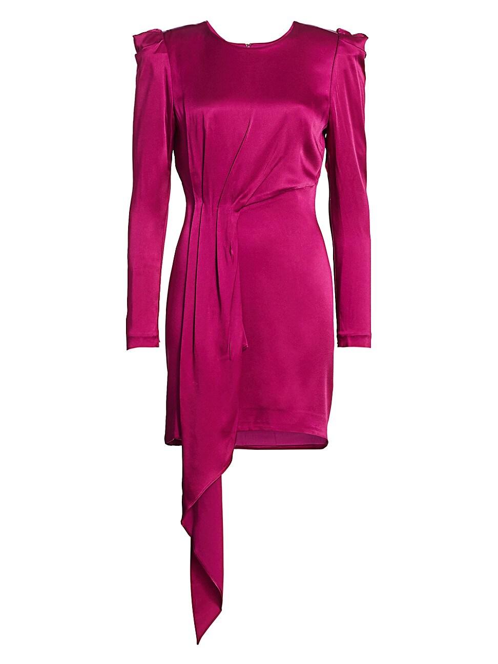 Haney WOMEN'S SOFIA PUFF-SHOULDER MINI DRESS