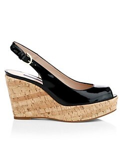 71c495b8fafe7 QUICK VIEW. Stuart Weitzman. Jean Cork Wedge Sandals