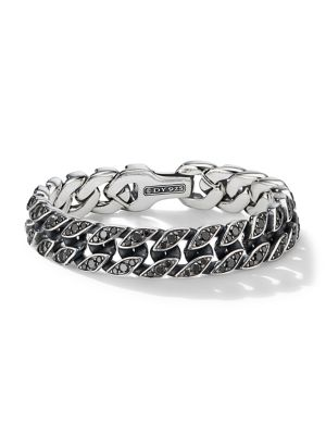 David Yurman Chain Collection Sterling Silver Curb Chain Bracelet