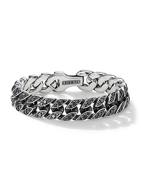 Chain Collection Sterling Silver Curb Chain Bracelet