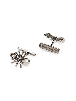 c8f3218db8c5 Spider Cufflinks SILVER. QUICK VIEW. Product image