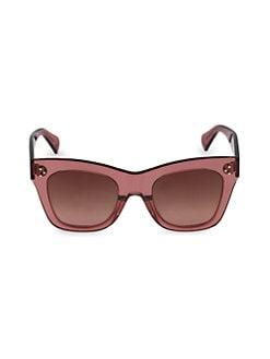 4f2a96b5a QUICK VIEW. CELINE. 55MM Square Cateye Sunglasses