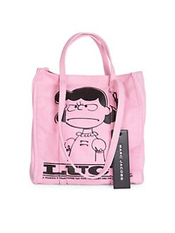 8a7ee6065 Peanuts x Marc Jacobs The Tag Tote PINK. QUICK VIEW. Product image