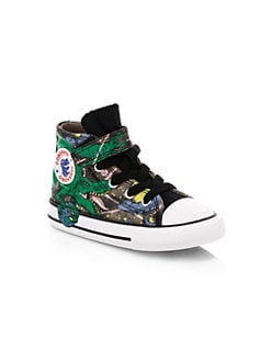 1fd416d593a7d Product image. QUICK VIEW. Converse. Baby's & Little Boy's Chuck Taylor All  Star Interstellar Dinoverse Sneakers