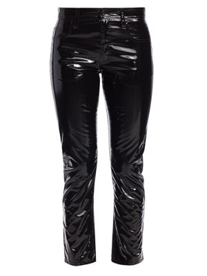 No 21 Patent Skinny Jeans