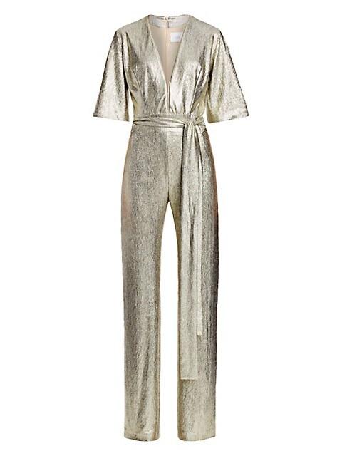 Metallic Galaxy Jumpsuit