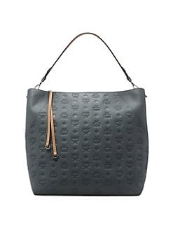 6640b3ff137 Product image. QUICK VIEW. MCM. Large Klara Monogram Leather Hobo Bag