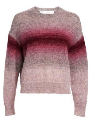 shine-hearty Contrast Chain Print Sweatshirt Fashion Black Spring Women Round Neck Long Sleeve Pullovers