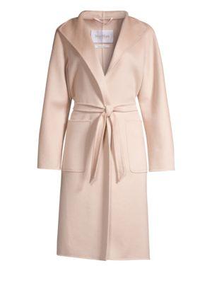 Max Mara Lilia Cashmere Belted Wrap Coat