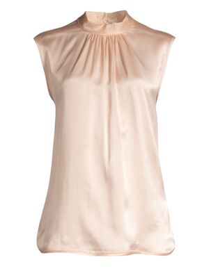 Max Mara Orel Sleeveless Silk Blouse