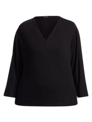 Nic + Zoe, Plus Size Women's Ease 4-in-1 Cardigan Sweater In Black Onyx