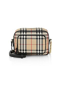 b4a1863f7641 QUICK VIEW. Burberry. Small Vintage Check Camera Bag
