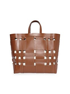 230e631368 QUICK VIEW. Burberry. Large Foster Woven Leather Tote