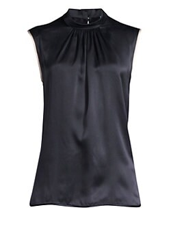 76451cdd68547 QUICK VIEW. Max Mara. Orel Sleeveless Silk Blouse
