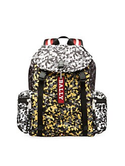 027a1610d007 Bally - Camo Print Backpack