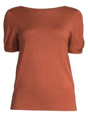 Max Mara Sweaters Osteo Silk & Cashmere Sweater