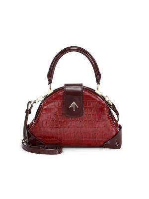 7eeef766a Avec La Troupe - Python Print Leather Galaxy Belt Bag - saks.com