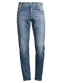 332d8b11a521 QUICK VIEW. Isaia. Classic Straight Leg Jeans