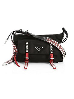 676efa533cf3 Vela Nylon Crossbody Bag BLACK RED. QUICK VIEW. Product image. QUICK VIEW.  Prada