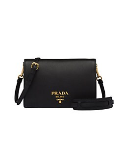 843cb6fe3f29 Product image. QUICK VIEW. Prada. Daino Leather Crossbody Bag