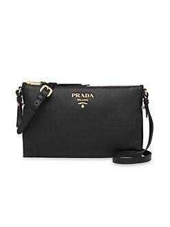 39950a66a337 Small Daino Leather Crossbody Bag BLACK. QUICK VIEW. Product image