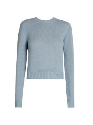 Bottega Veneta Cashmere Blend Cropped Sweater
