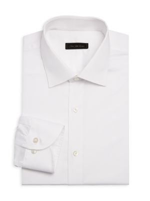 Saks Fifth Avenue Collection Twill Dress Shirt