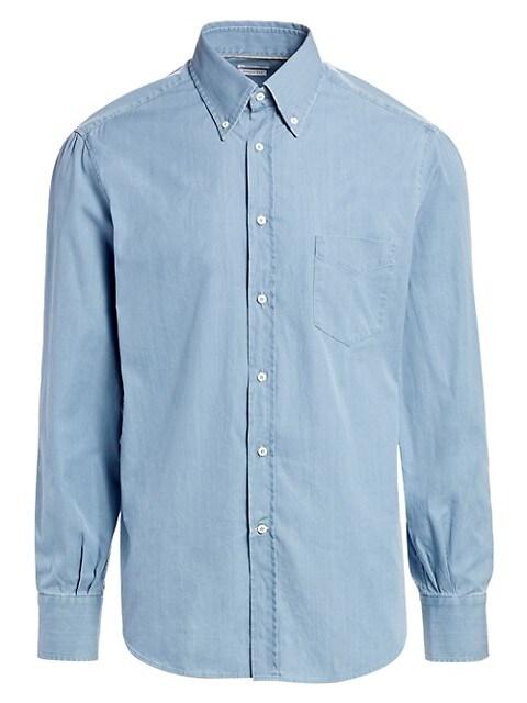 Basic-Fit Chambray Shirt