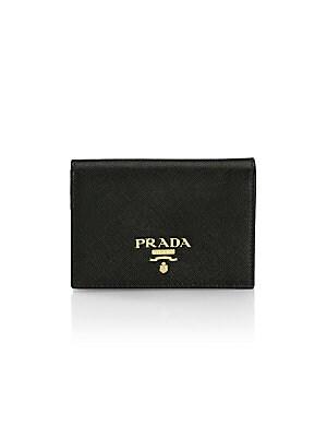 1ca60b624 Prada - Saffiano Leather French Wallet - saks.com